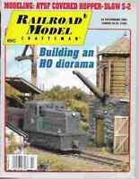 Railroad Model Craftsman Magazine February 2005 ATSF Covered Hopper, DL&W S-2