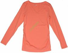 New Gap Womens Maternity Solid Long Sleeve Top NWOT Size sz S M