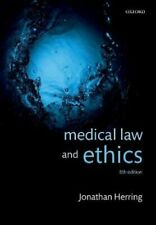 Medical Law and Ethics by Jonathan Herring 9780198846956 | Brand New