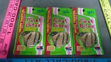 First Bites Micro Pellet Fry/Newborn Fish Food Granule Hikari .35oz each 3 Pack