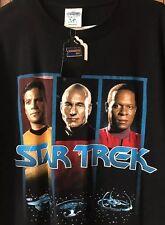 Star Trek - The Next Generation Rare Blockbuster Video T-Shirt XL - Made In USA