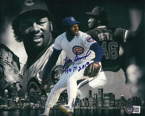 """BECKETT LEE SMITH """"HOF 2019"""" CHICAGO CUBS 8X10 GLOSSY PHOTO COLLAGE BA50562"""