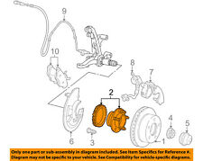 FORD OEM ABS Anti-lock Brakes-Front Speed Sensor 5W1Z1104B
