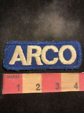Vintage ARCO Gas Station Advertising Patch O00R