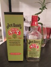 Jack Daniels Legacy Edition Green Label Empty Bottle and Box