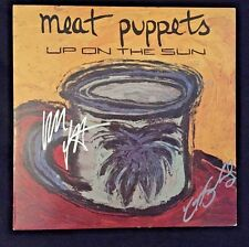 "Autographed Meat Puppets ""Up on the Sun"" Original LP/Record 1985"