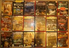 PC Hidden Object / Puzzle games x 26.