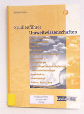 Studienführer, Umweltwissenschaften, Jochen Krohn