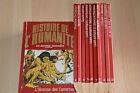 lot 11 livres L'histoire de l'humanité en bandes dessinées n°1 à 8 + 21 22 23