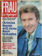 Frau im Spiegel 43/1978, Wencke Myhre, Roger Whittaker, Daliah Lavi, Rühmann