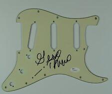 George Thorogood Autograph Signed Stratocaster Fender Guard JSA Guitar