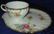 RP864 Vtg Shafford Bone China Japan Teacup & Plate Set
