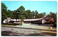 Postcard VA Suffolk Green Pines Motel  US 58 West Vintage Car E10