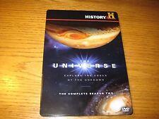 The Universe Season Two History Channel 4-Disc DVD Region 1 Steelbook