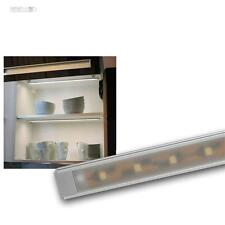 LED Alu-Lichtleiste Superflach, 27 SMD LEDs kaltweiß Unterbauleuchte Leiste 12V