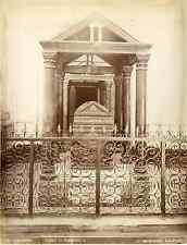 G.Incorpora, Sicilia, Palermo, tombadi Federico II Vintage albumen print Tirag