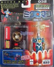 Microman Magne Power Cassette Machines Sonic Bike Cain