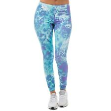 New Women's Adidas Originals 'Ocean Elements AOP' Tights Size UK 6 EUR 32