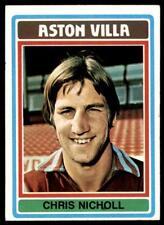 Topps Football Blue/Grey 1976 (B1) Chris Nicholl Aston Villa No. 94