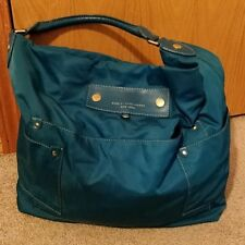 Authentic Marc By Marc Jacobs Teal Preppy Nylon Faridah Bag