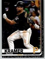 2019 Topps Series 2 KEVIN KRAMER Black Parallel /67 Pirates Rookie #648