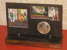 70sSoviet Space Cosmonaut Dogs LAIKA- Belka-Otvazhnaya-Rabbit Desk Table Model