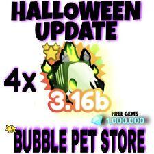 Pet Simulator X 4 Mythic Ghoul Horses (NEW MYTHIC) and 1M gems