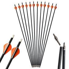 """30"""" flechas de carbono de Tiro con Arco Recurvo Arco compuesto de punto de Tornillo SP500 caza de destino"""