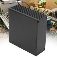 Aluminum PCB Instrument Box Enclosure Electronic Project Case Black 40*110*100mm
