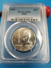 1965 SMS Kennedy Half Dollar PCGS SP-66