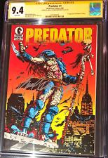 Predator #1__CGC 9.4 SS__Signed by Arnold Schwarzenegger