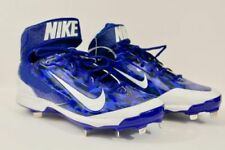 Nike Air Huarache Pro Mid Metal Baseball Cleats Blue Camo 599235-499 Sz 14