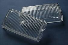 PORSCHE 911 930 SET FOG LIGHT LENSES ORIGINAL BOSCH NEW 91163196400