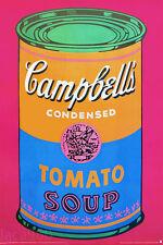 Andy WARHOL Campbells Soup Can Art Print Poster 53 x 34