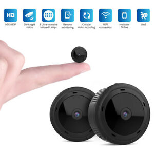 1080P HD Mini WiFi Camera Wireless Home Security In/Outdoor Night Vision Spy Cam