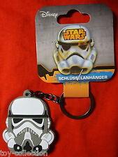 Stormtrooper - Star Wars Episode VII - Gummi Schlüsselanhänger / rubber keychain