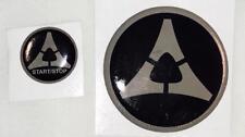 Peel /& Stick EzInstall Dodge Challenger SRT 2010-2012 Nose Emblem Emblem NEW
