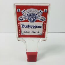 Budweiser King Of Beers Tap Handle Vintage