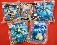 McDonalds Lego Bionicle Premium Toys Lot of 5 all New sealed