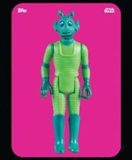 Star Wars Card Trader Pink Out Of The Box - Greedo