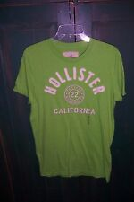 Hollister by Abercrombie Men's Green Short Sleeve T-Shirt Size Medium NWT