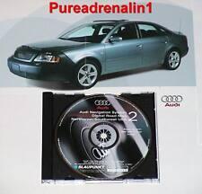 01 2002 AUDI A4 A6 A8 NAVIGATION DISC CD 2 NORTHWEST SW UT CO OR AZ ID MT OR WA