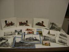 Lot of 97 Vintage Miscellaneous  Railway Photos