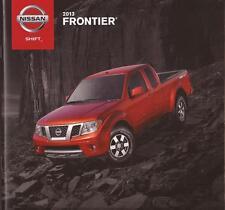 2013 13  Nissan Frontier  original sales brochure