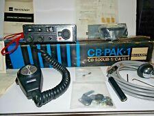 1974 CB RADIO SET SHARP CB-500UB 23 Channel Transceiver & CA-11 Antenna CB-PAK-1