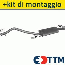 VW TRANSPORTER T4 90-95 Silenziatore Marmitta Posteriore+