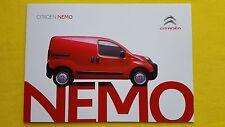 Citroen Nemo LX X Enterprise van sales brochure catalogue November 2015 MINT