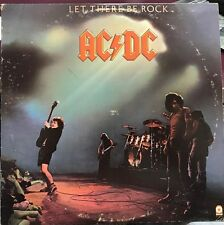 AC/DC LET THERE BE ROCK LP 1977 ATCO SD 36-151