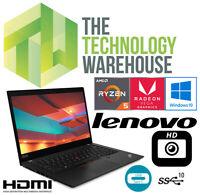 "Lenovo Thinkpad X395 Laptop 13"" 1080p AMD Ryzen CPU 16GB + 500GB SSD Windows 10"