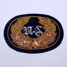 UNION ARMY US CAVALRY Civil War OFFICER COLONEL Embossed Sew On PATCH New